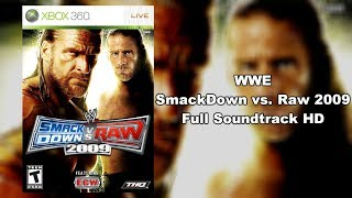 WWE SmackDown vs. Raw 2009 - Full Soundtrack HD