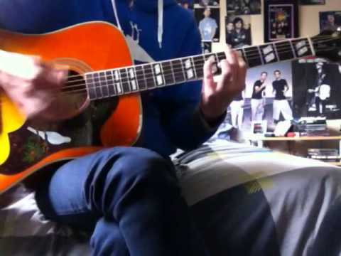 The Front Bottoms - Flashlight Acoustic Guitar Cover