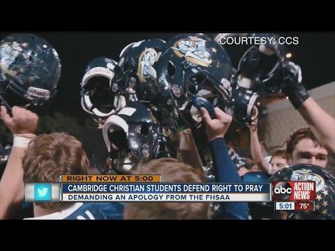 cambridge christian football