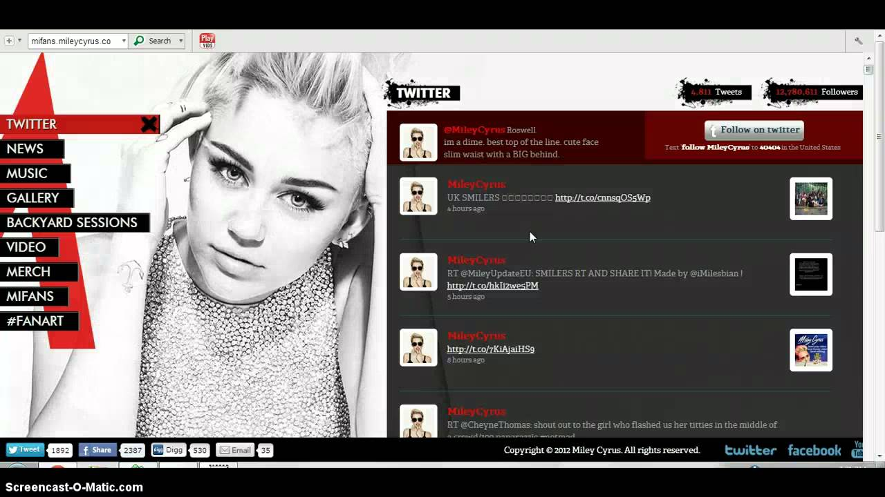 getting introduced to miley screencast youtube