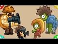 🐾 Стреляем в зомби в городе ZOMBO BUSTER. Мультфильм видео для детей. ZOMBIE GAMES