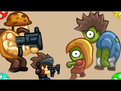Стреляем в зомби в городе ZOMBO BUSTER. Мультфильм видео для детей. ZOMBIE GAMES