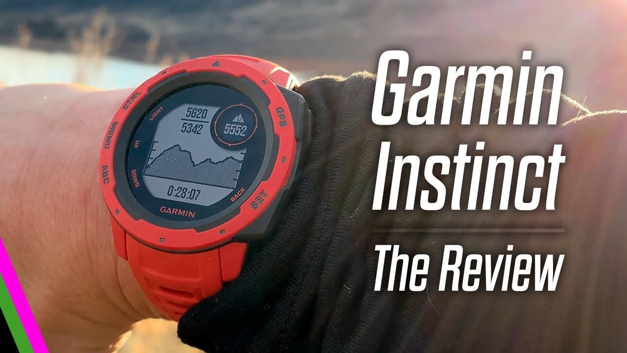 Garmin Instinct // The Review - The Adventure GPS Sports Watch