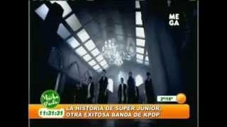 120710 Super Junior on Chilean TV [ ENG Sub ]
