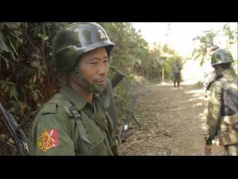 Myanmar accused of violating own ceasefire