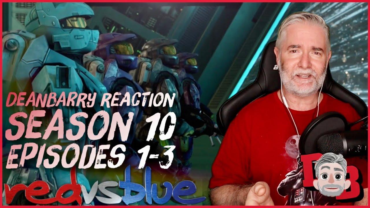 Download Red Vs Blue - Season 10 / Episodes 1-3 REACTION