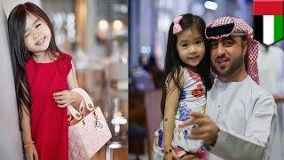 5-летняя корейская девочка стала суперзвездой Арабских Эмиратов