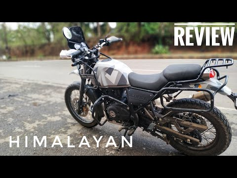 Royal Enfield Himalayan FI Review -- Should You Buy? BEAST BIKER