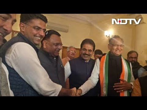 For Rajasthan, Sachin Pilot Or Ashok Gehlot? Congress To Decide Post Win