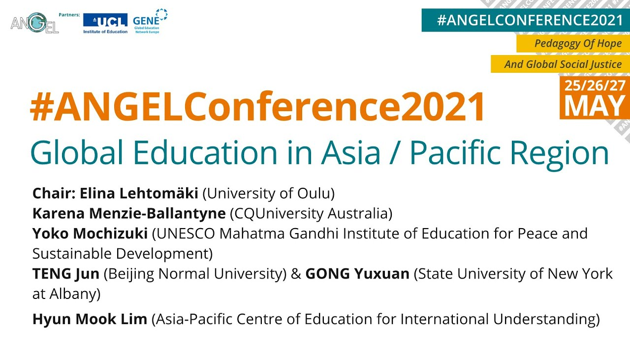 Download #ANGELConference2021: Global Education in Asia and Pacific Region