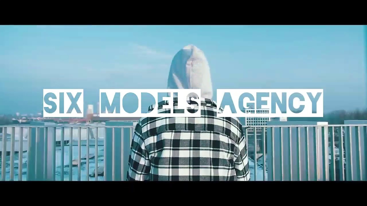 SIX MODELS AGENCY clothing brand promo video