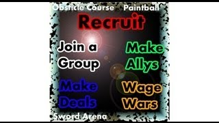 Group Recruiting Plaza Contest Video..... Place made by Dart219..... (ROBLOX)