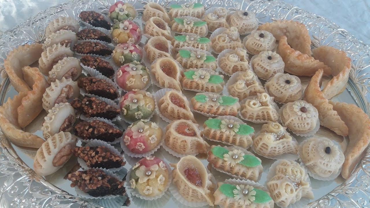 اروع حلويات اللوز المغربية رااااااااائعة في المذاق وتبسيط في الشكل Youtube Moroccan Pastries Food Desserts