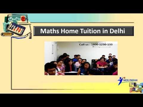 Maths Home Tuition  Call - 1800-1230-133