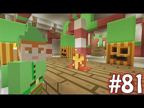 Minecraft Xbox - Sky Island Challenge - Santas Grotto!! [81]