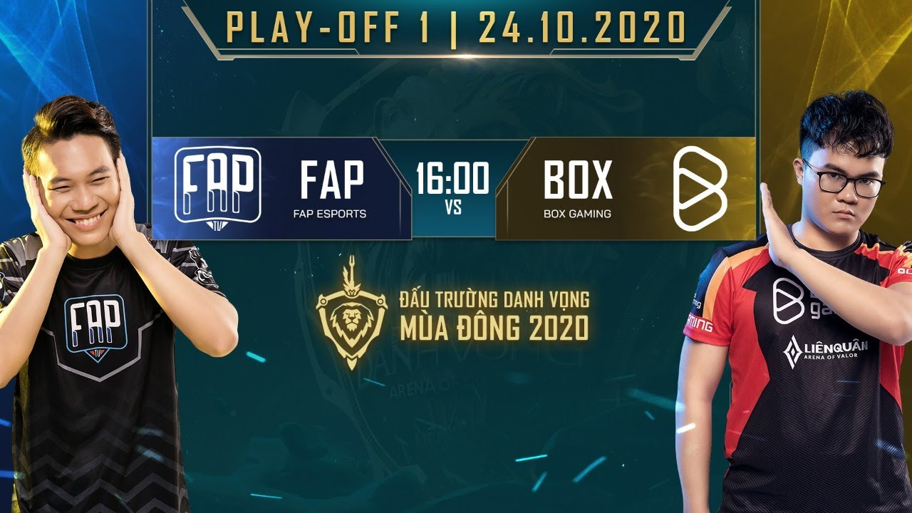FAP Esports vs BOX Gaming – FAP vs BOX | Playoffs 1  [24.10.2020] – ĐTDV mùa Đông 2020