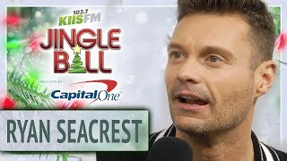 Ryan Seacrest Catches Up With Other KIIS FM Hosts At Jingle Ball
