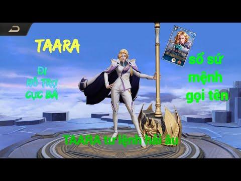 (VTTChennel)cầm Taara tư lệnh hải âu đi hỗ chợ | taara đi hỗ trợ cực trâu