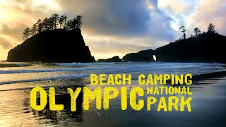 Beach Camping at Se¢ond Beach - La Push, Washington || Olympic National Park