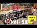 Rat Rod Muito louco - Chevrolet 1932 V8 - Chile ao Brasil 5000km neste carro