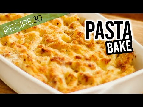 How To Make A Pasta Bake, Mac And Cheese With Smoked Ham
