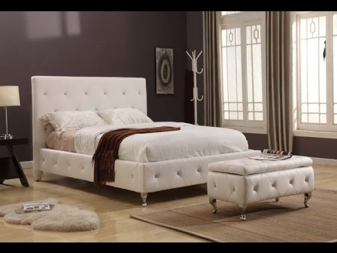 Amazing king size tufted headboard ideas youtube - King size headboard ideas ...
