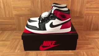 ShoeZeum Michael Jordan Wore Black Toe Air Jordan 1s In The Jumpman Logo