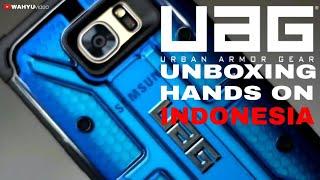 UAG (Urban Armor Gear) Case, Cobalt Blue for Samsung S7 Edge. Unboxing dan Hands On Indonesia.