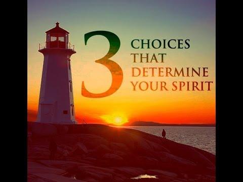 """3 Choices That Determine Your Spirit"" - Pastor Wayne Cordeiro"