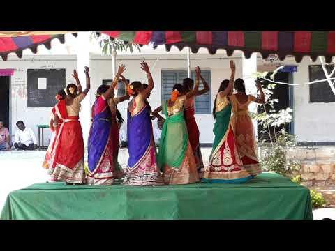Singidilo Rangulan Threshold Telangana Bathukamma Song2018
