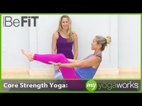 Core Strength Yoga Workout | MyYogaWorks- Jesse Schein
