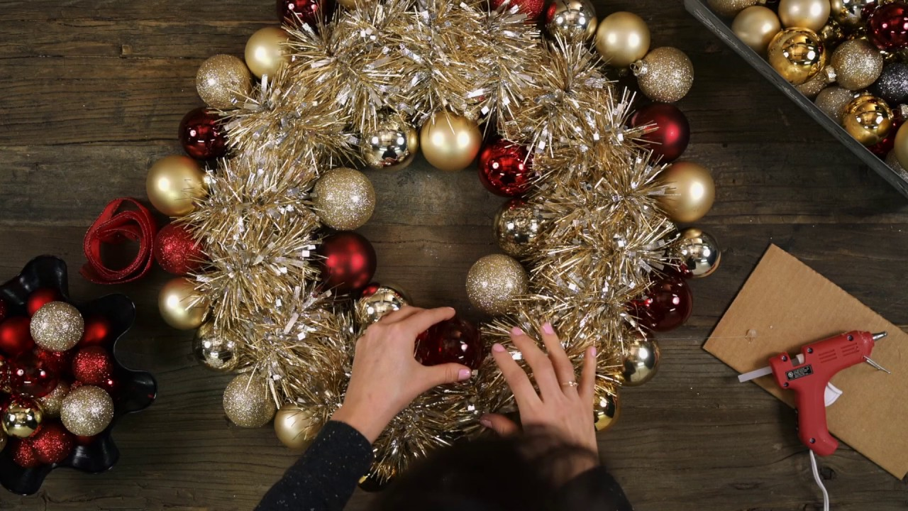 Diy Holiday Ornament Wreath Ambit Energy Youtube