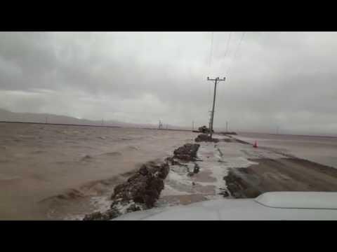 Salinas Grandes bajo el agua