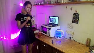 Weekend morning at home listening to cooking music and talking to people - vlog tatar4yk