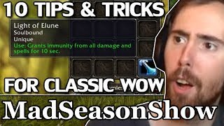 "Asmongold Reacts to ""10 Handy Tips & Tricks for Classic WoW - Episode 2"" by MadSeasonShow"