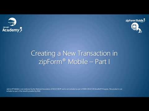 creating-a-new-transaction-in-zipform®-mobile---part-i