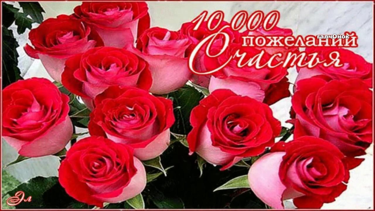 Открытки с розами с пожеланиями счастья и добраться, для летний открытки