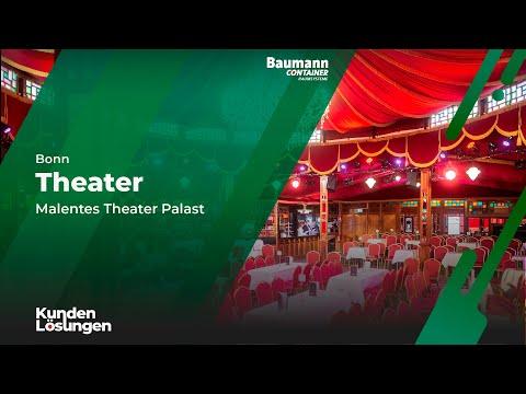 Baumann Container - In Bonn entsteht ein neues Theater