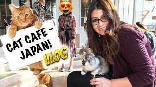 Video CAT CAFE | Adventures in Japan VLOG download MP3, 3GP, MP4, WEBM, AVI, FLV September 2018