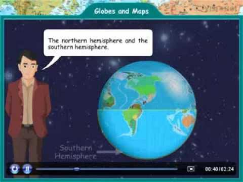Class IV Environmental Science Globes and maps YouTube