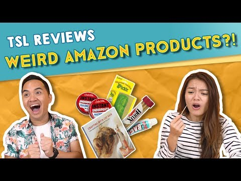 TSL Reviews: Weird Amazon Products!
