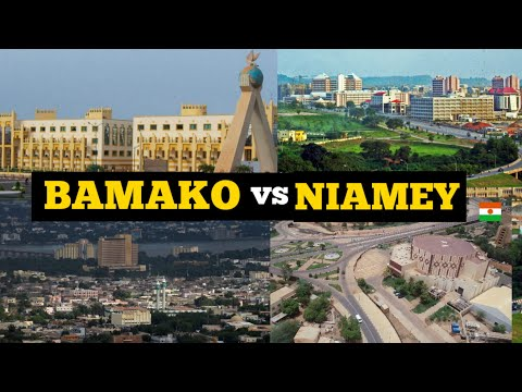 Bamako Mali vs Niamey Niger; Which City is Most Beautiful?Quelle Ville est la Plus Belle? Visit Afri