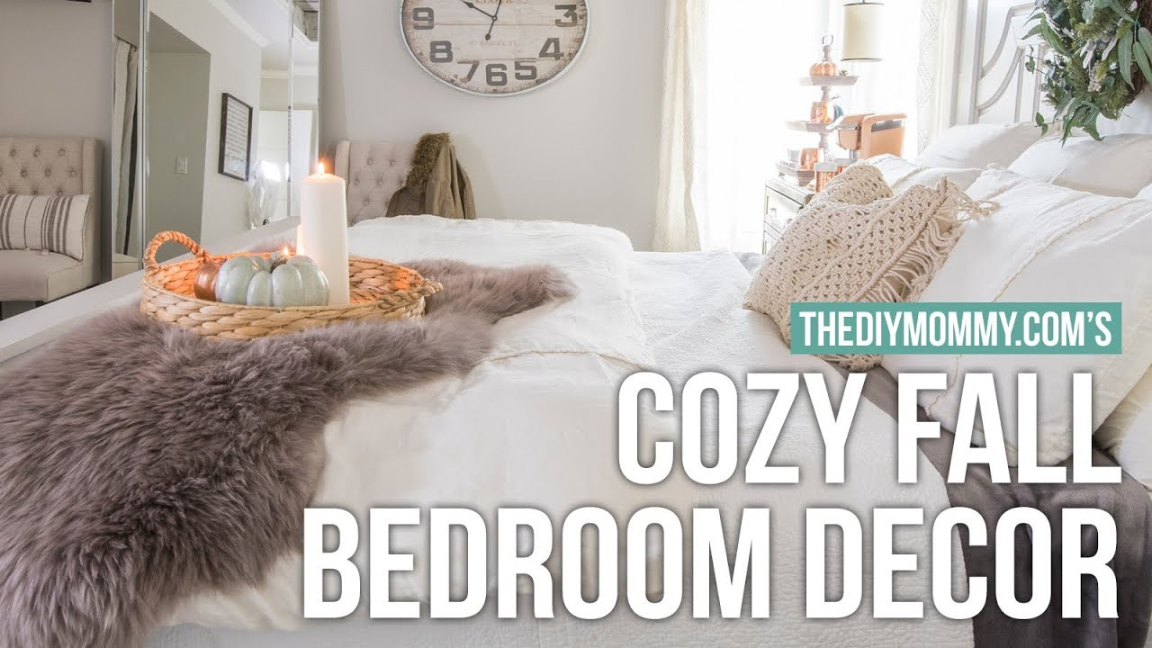how to make your room cozy for fall the diy mommy youtube