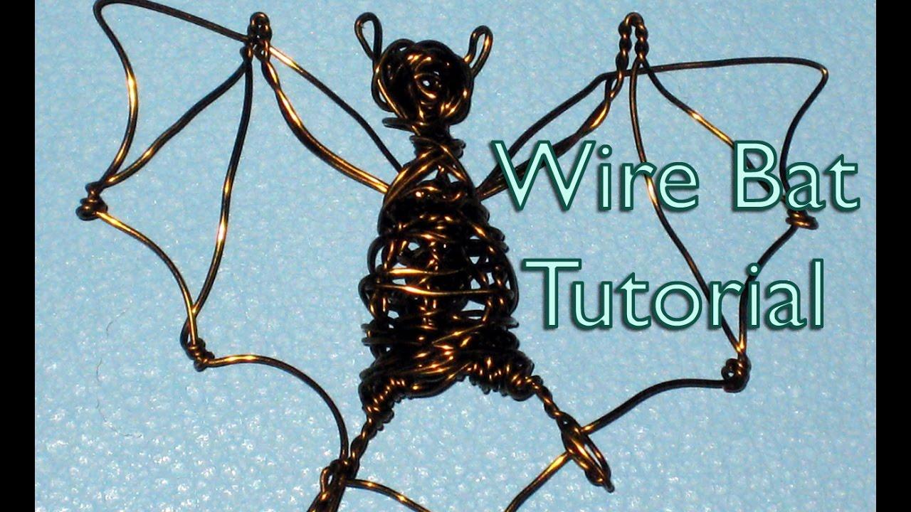 Wire Bat Tutorial - YouTube