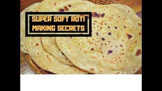 Super Soft Roti making Secret | Perfect Roti/Phulka/Chapati for lunch box Recipe -Curry forthe Soul
