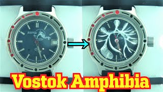 How Waterproof is Vostok Amfibia Dive Watch? Deep Sea Chamber test!