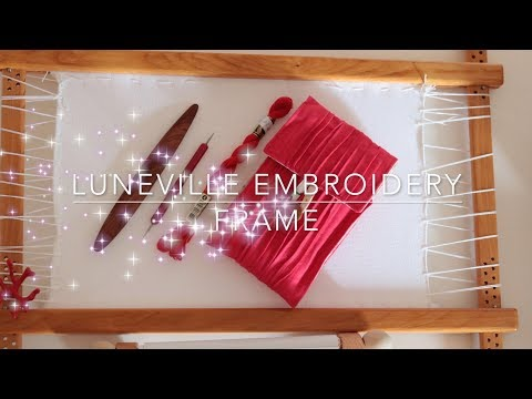 HAND EMBROIDERY - DRESSING FRAME/TAMBOUR FOR BEADING/LUNEVILLE /CROSS STITCH