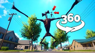 360 Video || Siren Head 360 Part 2 || Funny Horror Animation VR
