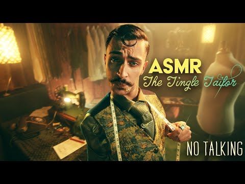 The Tingle Tailor EP#1 🧵ASMR ROLEPLAY (No Talking)