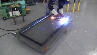 Building a simple welding table.